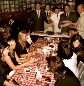 Parties at Parasole Restaurants